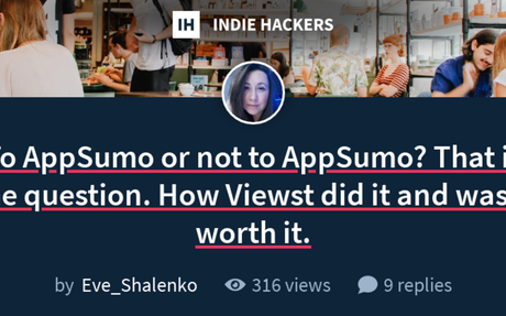 To AppSumo or not to AppSumo?