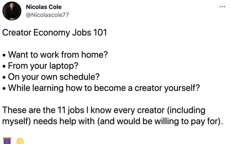 Creator Economy business opportunities