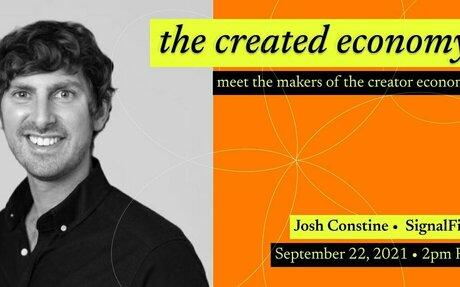 Interview with Josh Constine of SignalFire