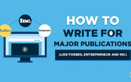 How to Write for Publications (and Get a Column on Forbes) in 2021