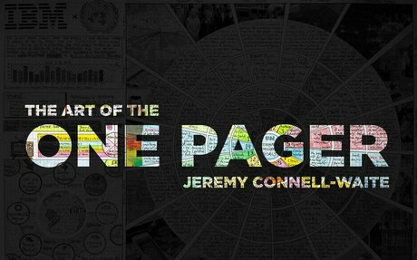 The Art of the One Pager