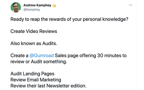 Quickly start a business with video reviews