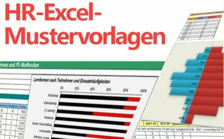 HR-Excel- Mustervorlagen