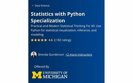 Statistics with Python Specialization