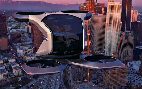 TECH // Cadillac Shows Off Single-Eater VTOL Drone Concept