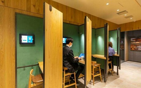 BRAND HIGHLIGHT // Starbucks Smart Lounges: Part Cafe, Part Co-Working Space