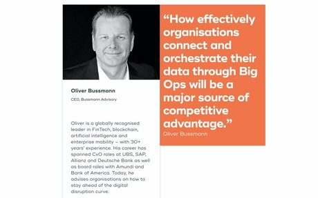 Join the debate with Oliver Bussmann: Should Financial Services move from Big Data to Big Ops?