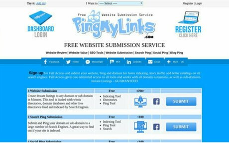 PingMyLinks Website Submission Indexed by Search Engines like Google,Bing,Yahoo,Baidu a...