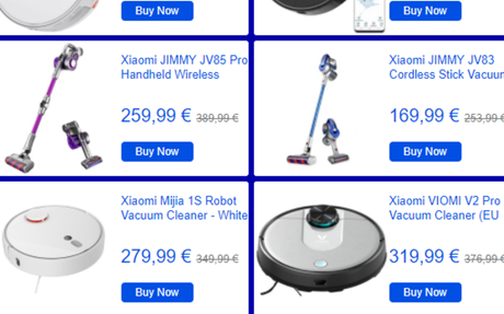 Discover and buy Smart Home,Vacuum Cleaner,Scooter,E-bike and more from Geekmaxi