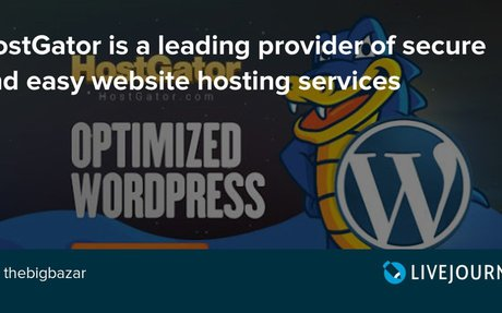 HostGator is a leading provider of secure and easy website hosting services