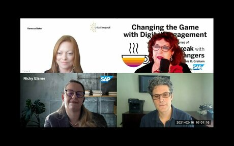 SAP Radio Show, Changing The Game With Digital Engagement #Radio