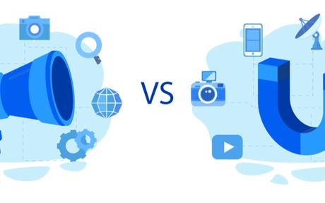 Inbound Marketing vs. Outbound Marketing - The Differences #Inbound #Outbound
