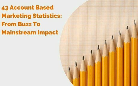 43 Account Based Marketing Statistics: From Buzz To Mainstream Impact #ABM