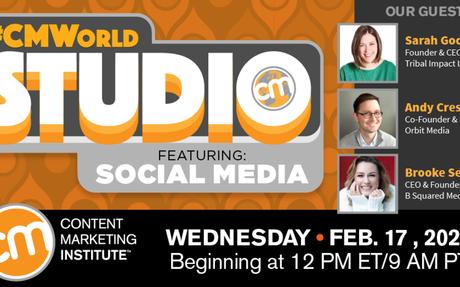CMWorld Studio: Featuring Social Media #SocialMedia