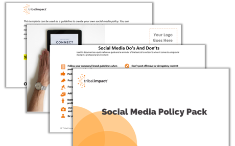 Social Media Policy Pack - Tribal Impact #Policy