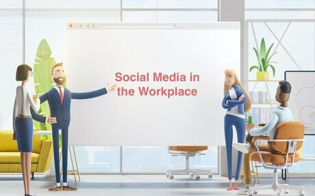 Social Media In The Workplace And Its Influence On Employee Productivity #Socialmedia
